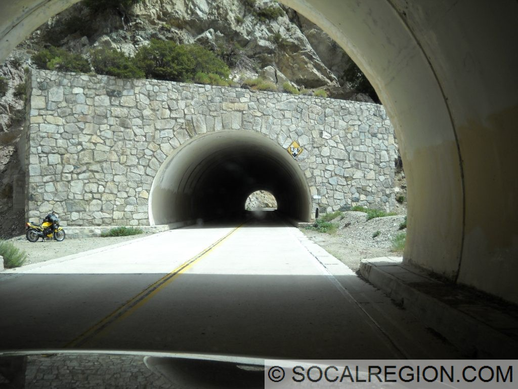 Second tunnel.