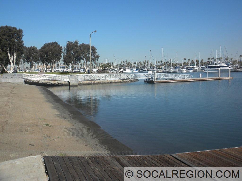 Dock and Ramp at Chula Vista Marina.