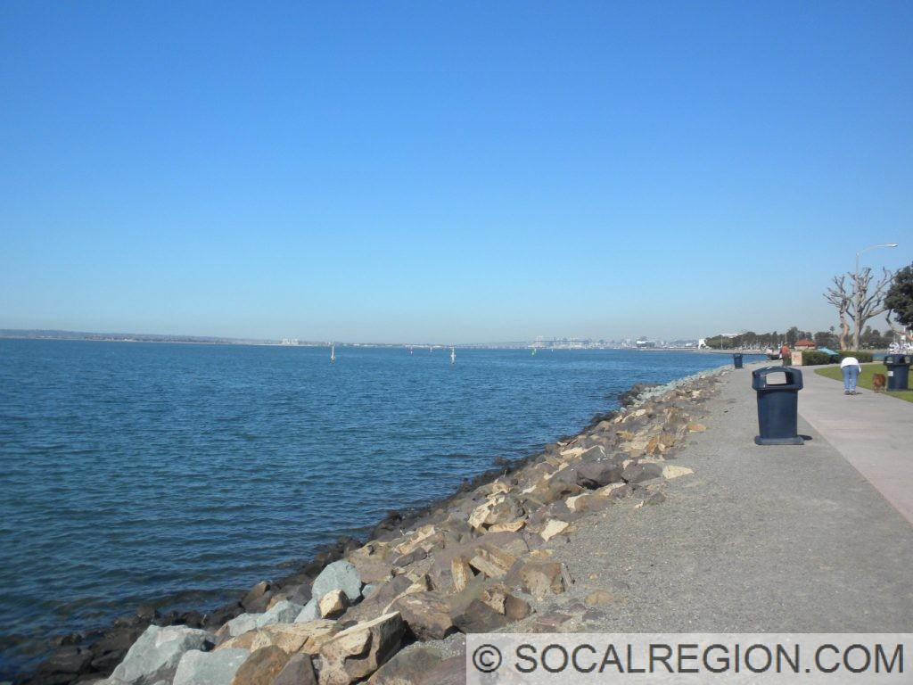 San Diego Bay from the Marina.