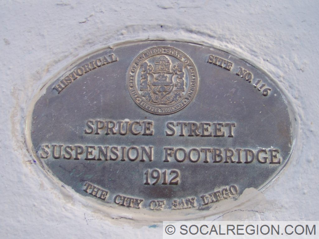 Spruce Street Bridge Plaque