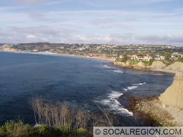 La Jolla Shores from Coast Walk.