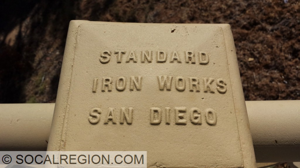 Steel construction company stamp.
