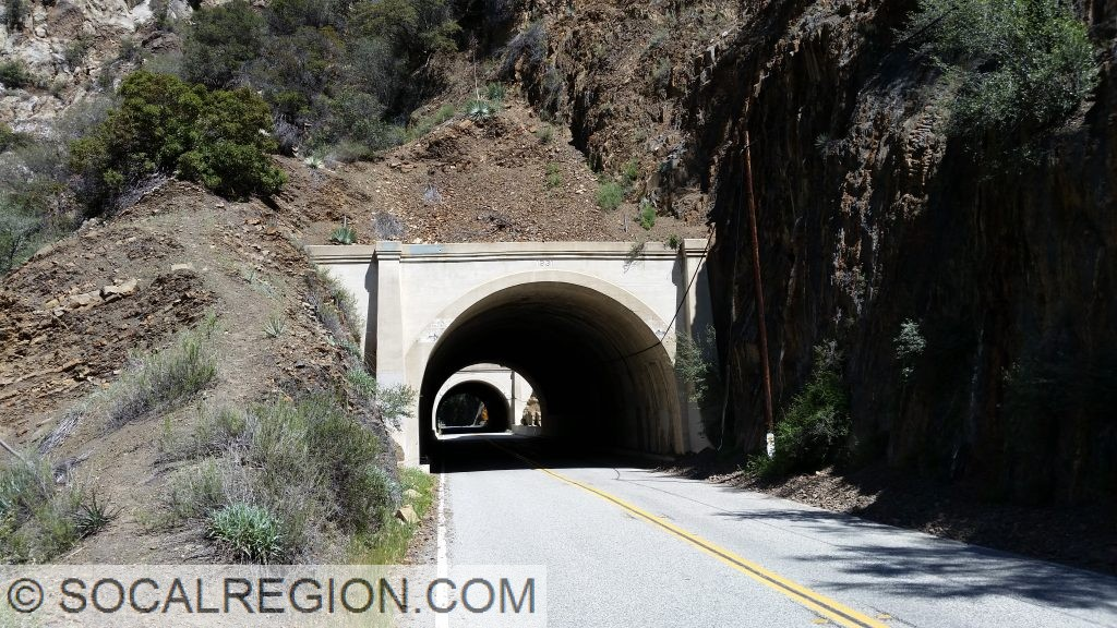 Tunnels 2 and 3 in Wheeler Gorge. Built in 1931.