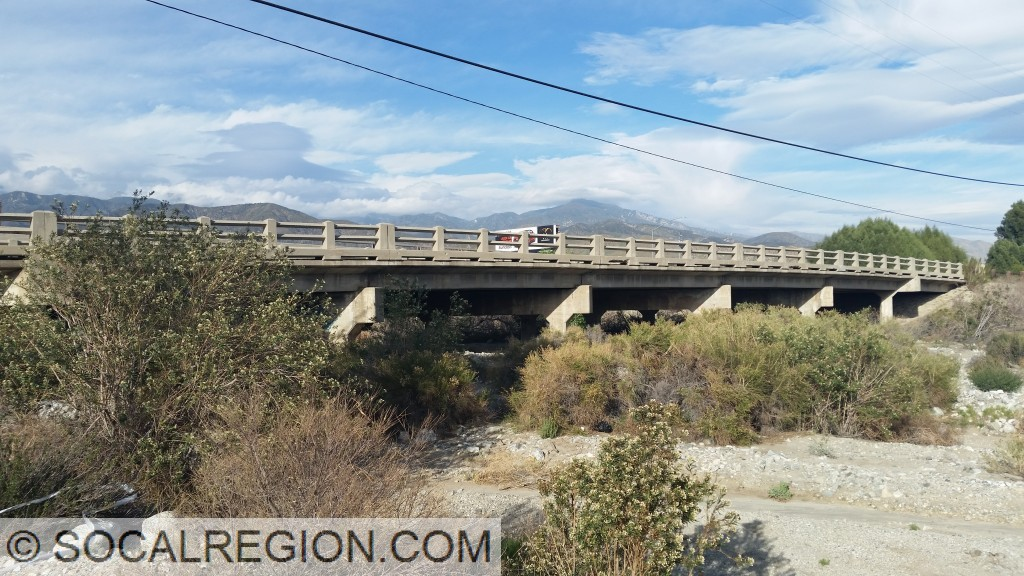 1925 San Gorgonio Wash Bridge - Widened in the early 1930's.