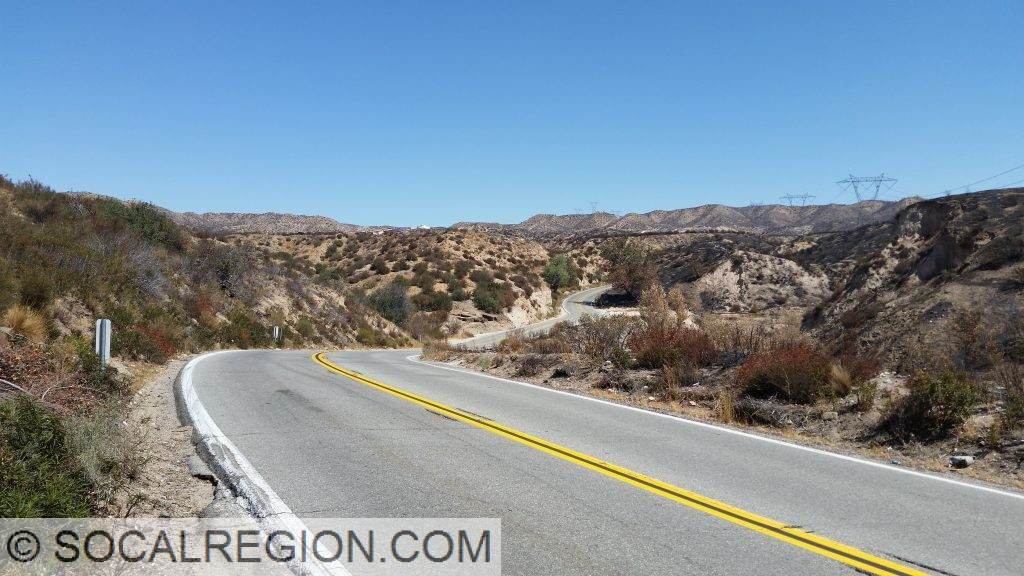 State 138 between Cajon Junction and Summit