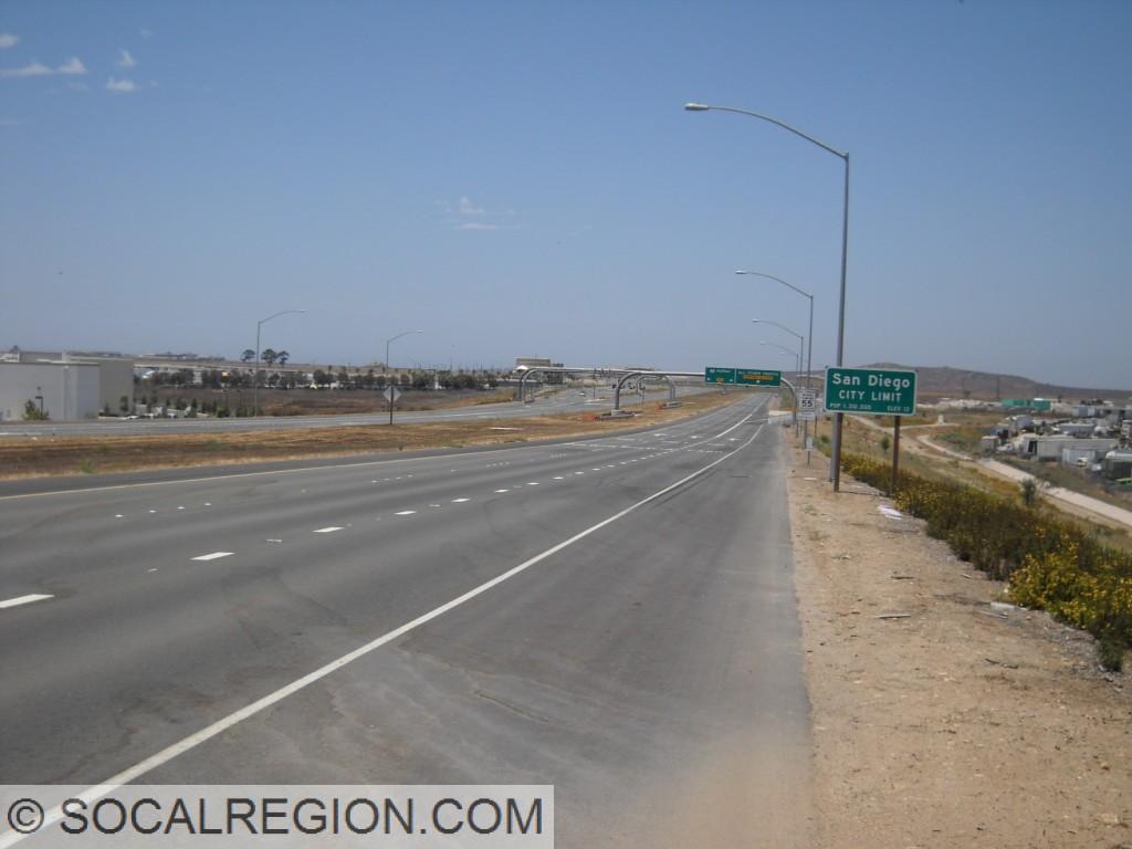 San Diego City Limits