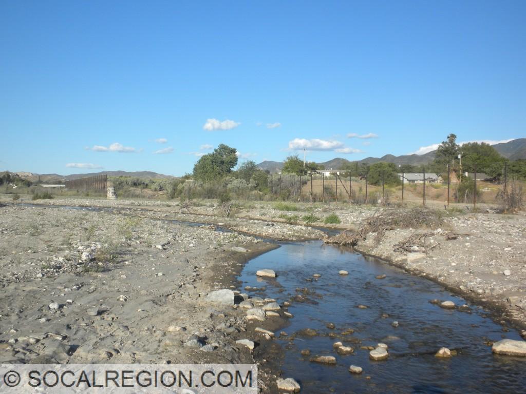 Santa Clara River near Lost Canyon Road.