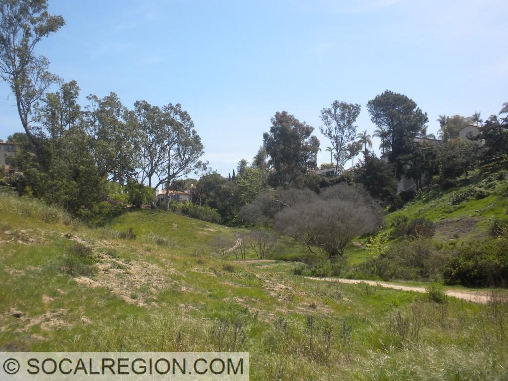 Balboa Park near Hillcrest, east of State 163.