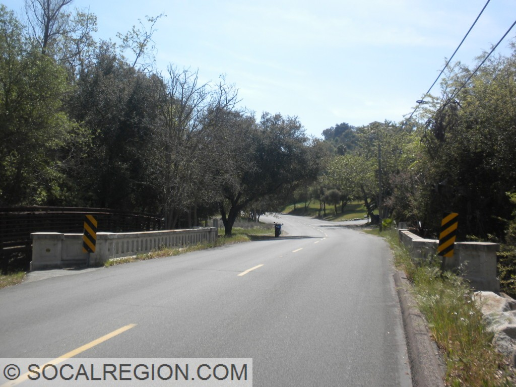 1928 bridge on Old Pomerado Road in Poway.