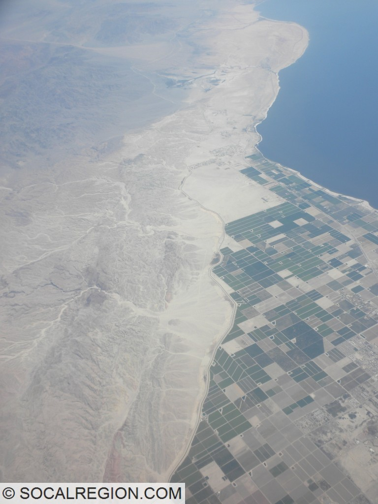 Southern end of the San Andreas Fault from near Mecca to Bombay Beach.