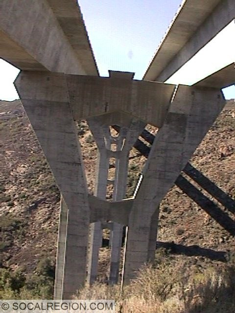 1920's bridge near San Martinez Grande Road.