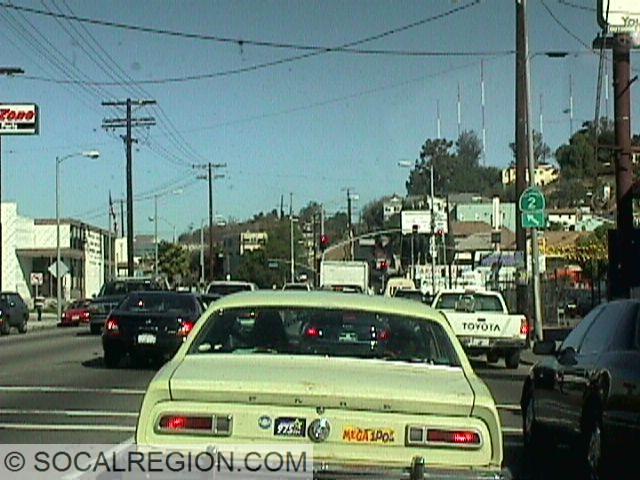 Northbound near Glendale Blvd.