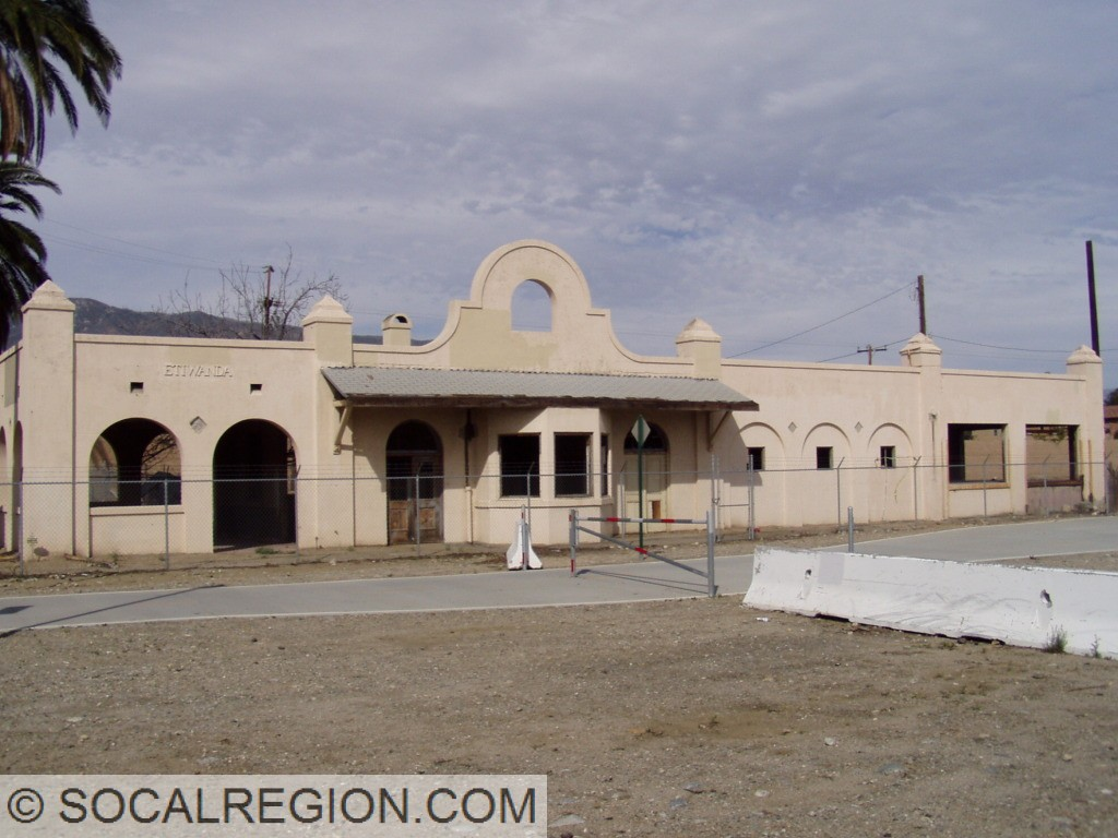 Former Pacific Electric Etiwanda Depot