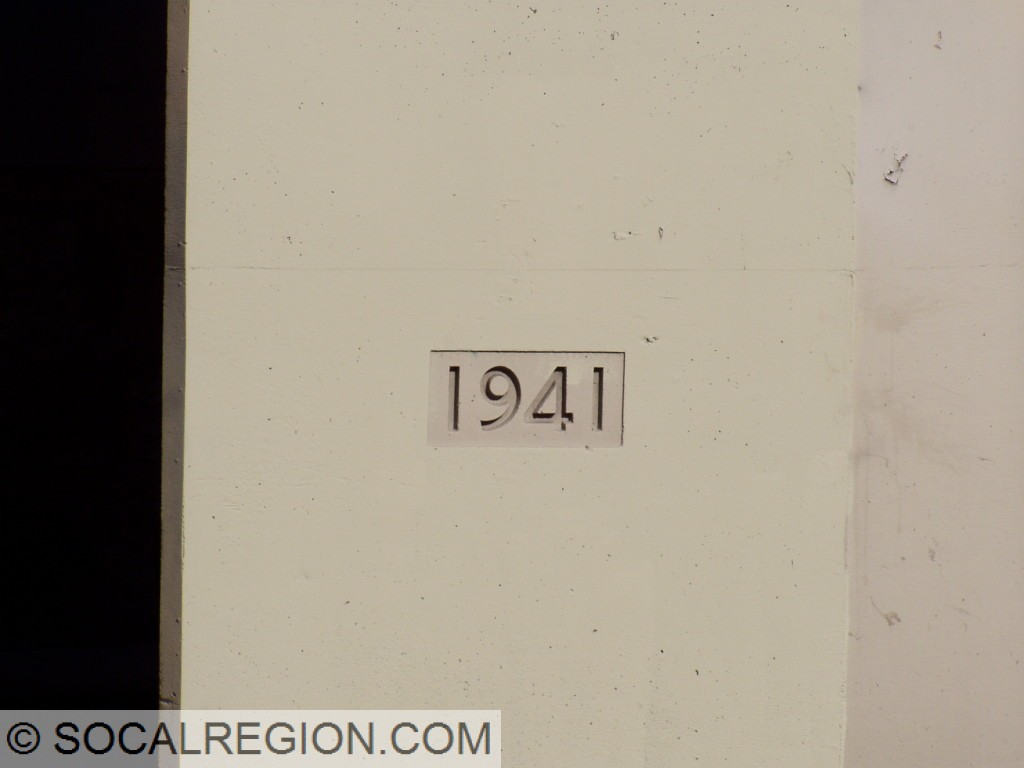 1941 date stamp on the railroad overhead.