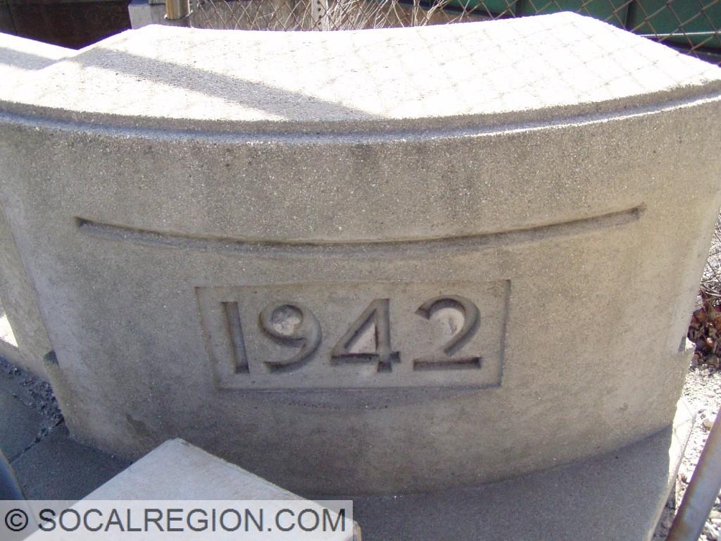 1942 date on the San Fernando Road OC