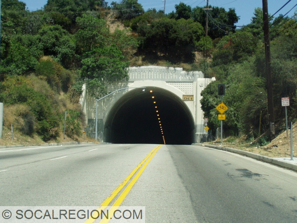 South portal of the Sepulveda Pass Tunnel