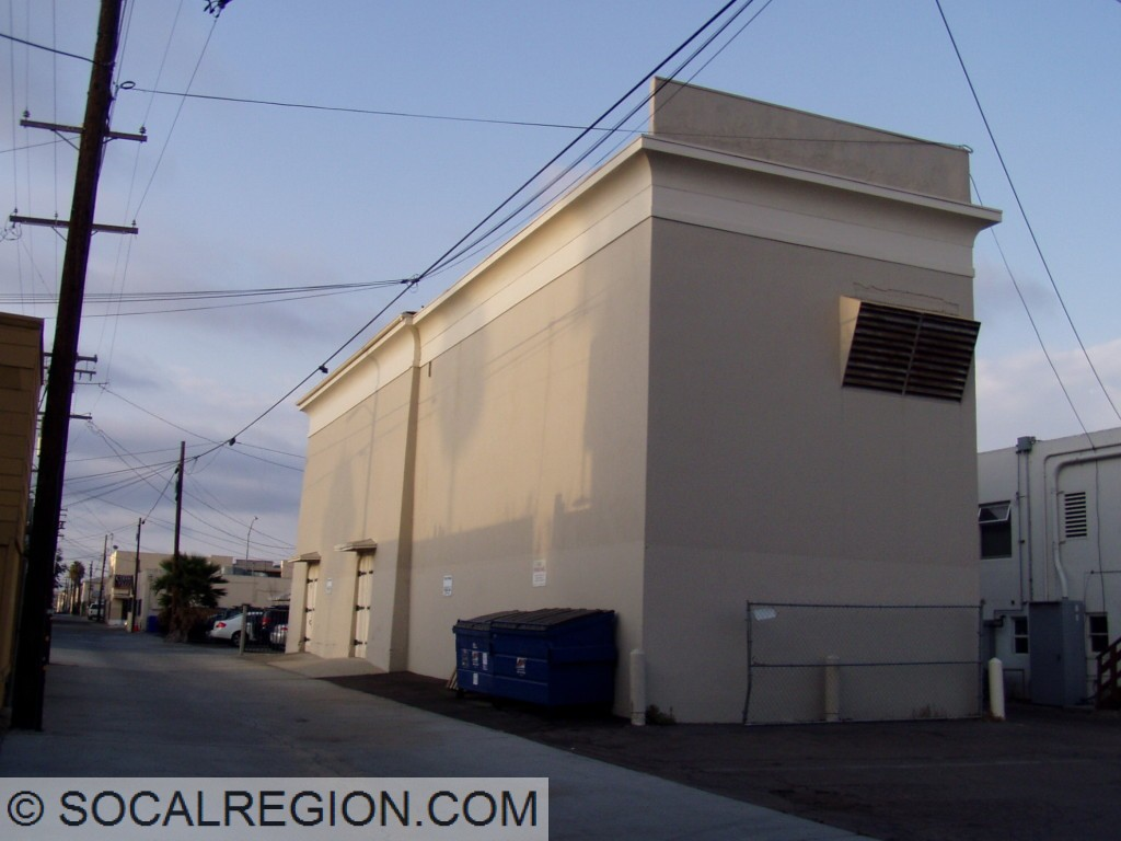 Former substation in North Park with an Egyptian theme.