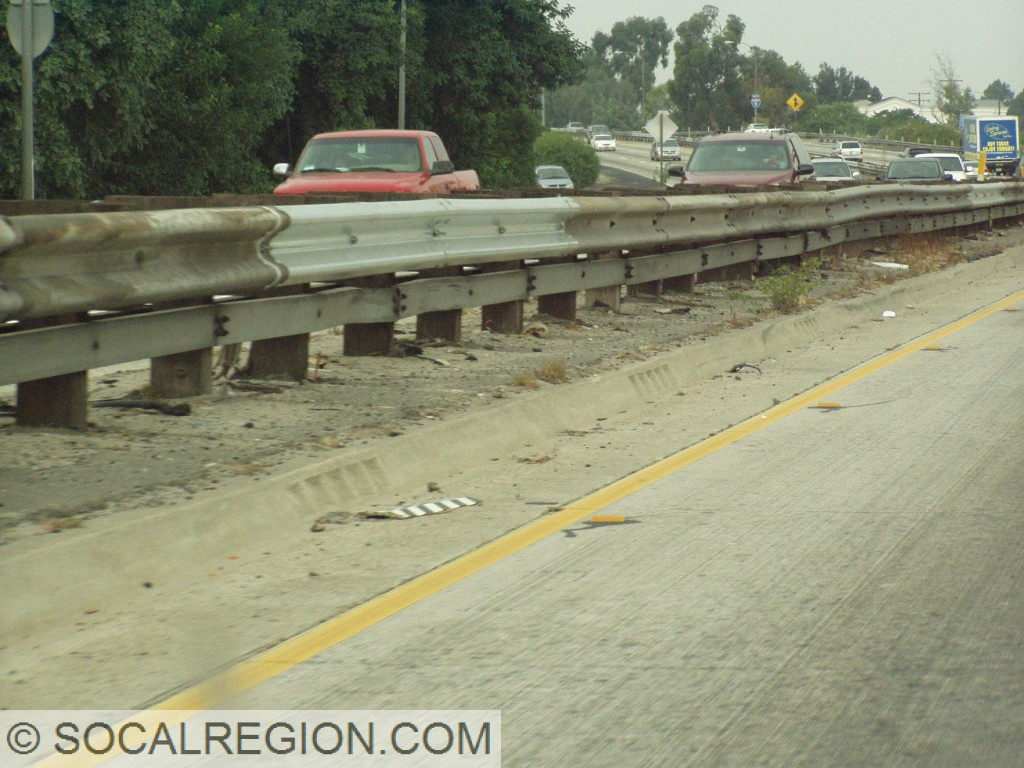 Old median in the Downey area.