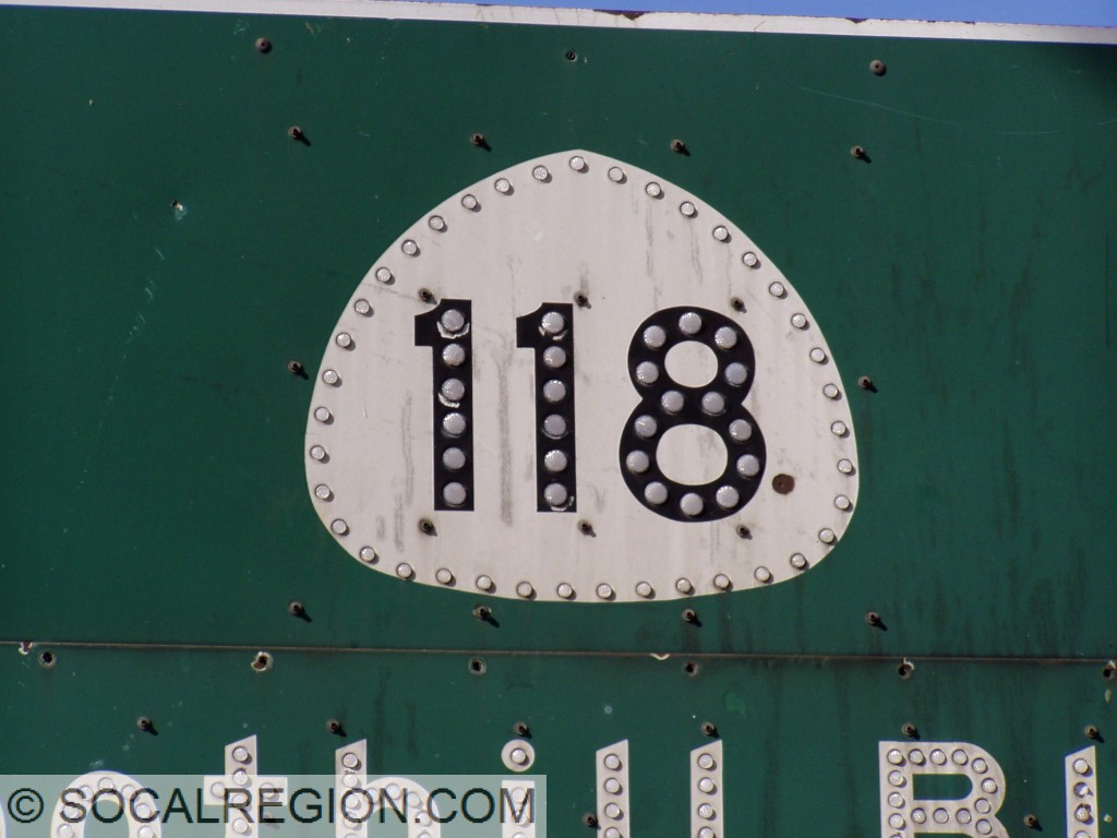 Detail of the 118 shield.