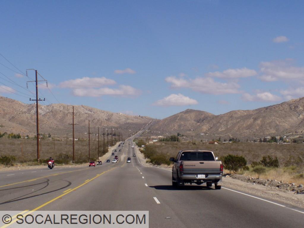 Through Morongo Valley