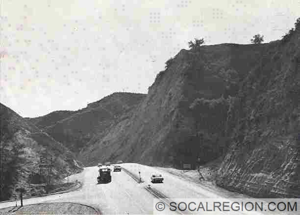 1964 view of the tunnel area, looking southerly.