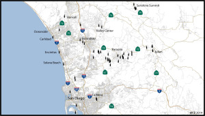 Wineries of San Diego County